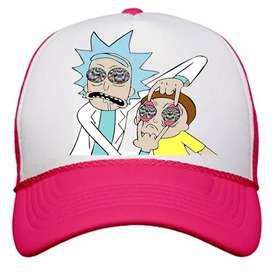 Gorras Estampadas Personalizadas Rick and Morty Rick Sanchez Morty Smith