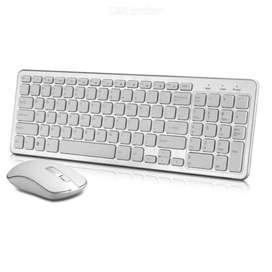 Combo Teclado y mouse inalámbrico ultra delgado