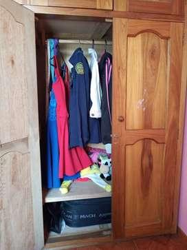 Vendo closet desarmable negociable