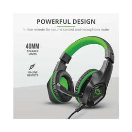 Audifono Diadema Gamer Trust Gxt 404G Rana 3.5 Mm Pc,Laptop,Smartphone,Tablet,Xbox One