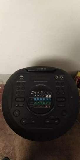Equipo sonido tipo torre sony
