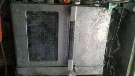 horno acero inox  2 motores a gas