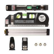 Nivel Laser Multi Usos Con Metro Tres Burbujas Alineador