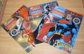 Lote 03 Fasciculos Superman , Batman Y Flash