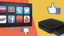 Tv box 2 GB + minikeyboard con pago contraentrega y demás