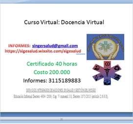 200.000 Curso Virtual: Docencia Virtual