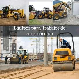 Demoliciones excavaciones movimiento de tierra agregados maquinaria pesada eliminación de desmonte Retroexcavadora arena