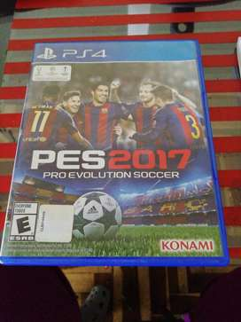 Remato PS4 PES 2017 AREQUIPA CAYMA 20 SOLES