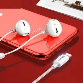 AURICULARES AUDIFONOS MANOS LIBRES CON CABLE LIGHTNING IPHONE