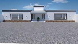 Vendo casa en construcción 75m2.