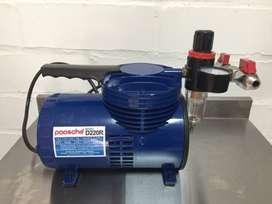 Compresor Paasche D220r 1/6 hp con regulador en como nuevo importado de USA