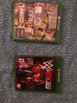 Fifa 17 y WWE2k16