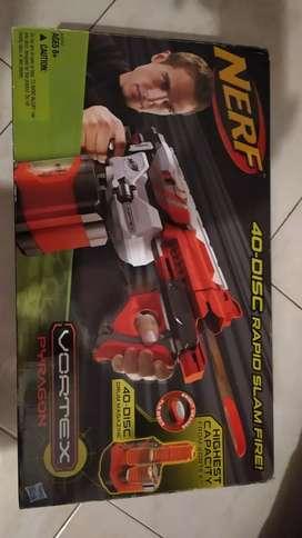 Pistola de Discos Nerf Pyragon