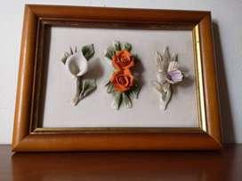 Cuadro Decorativo Floral