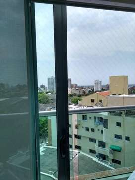 Suministro e instalacion de malla tipo balcon  monofilamento