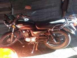 Vendo mi moto urgente por motivo de viaje