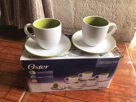 Juego de tazas marca Oster