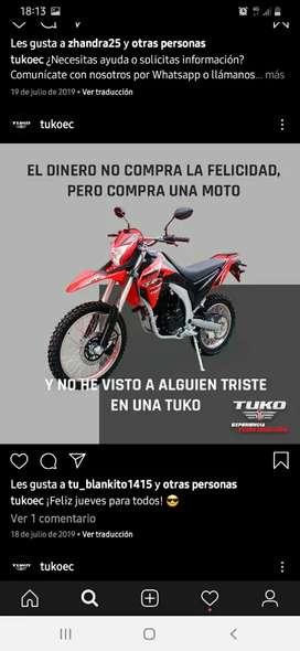 Moto usada poco uso modelos 2020