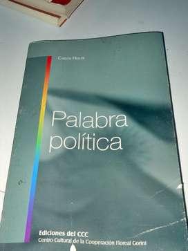 Palabra Política Carlos Heller Ediciones Del Ccc