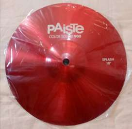 "SPLASH 10"" PAÍSTE COLORSOUND + CLAMP BOOM. PEARL NUEVOS  A 600 SOLES!"