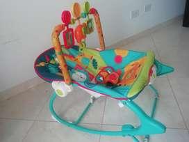 Silla Mesedora Y Vibradora para Bebé