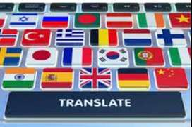 Traducciones de textos e interprete de inglés a español- español inglés