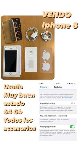 Iphone 8 Usado - 64 Gb