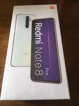 Xiaomi note 8 pro 64 GB 6 ram.  Caja sellada.