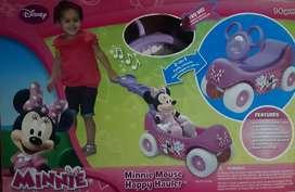 Carrito musical para pasear - Minnie  Mouse Happy Hauler  de Disney original  NUEVO