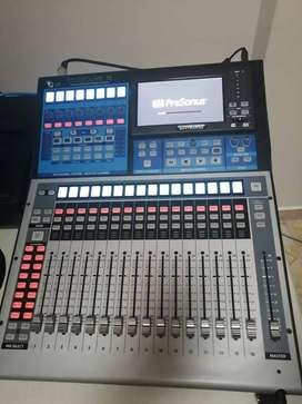 Consola Digital PreSonus StudioLive 16 Serie iii. Estado 10/10. Funcionalidad 10/10