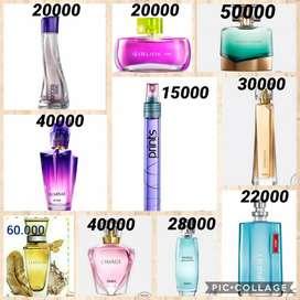 Perfumes, cremas, maquillaje