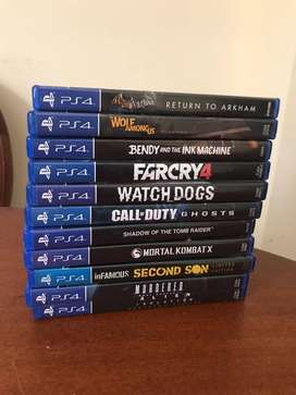 Juegos de Video para PS4