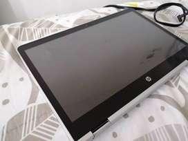 Hp pavilion x360 Procesador intel i3 de 7 generación 500 gb de disco duro 4 gb de ram Windows 10 de 64 bits