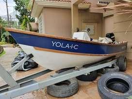 Vendo bote 15 pies