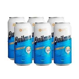 pack de 24 cerveza quilmes y brahma en oferta