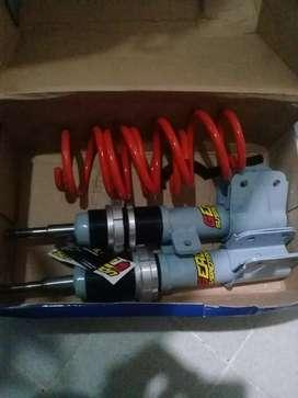 amortiguadores regulables 307/citroen c4