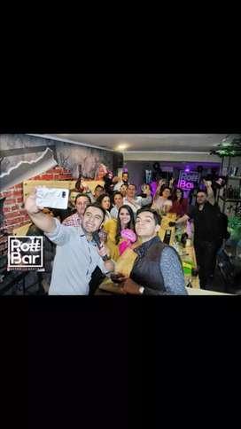 Se vende Bar Karaoke listo para trabajar con todos los permisos en regla
