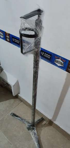 Dispensador de gel antivacterial de pie