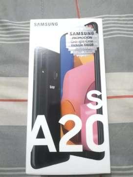 Vendo Samsung a20s Duos Sellado