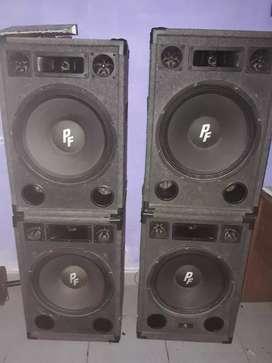 Equipo sonido Powerfull  como nuevo