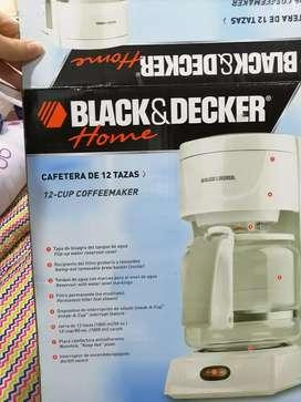 Cafetera Black y Decker Nueva