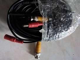 Dos paquetes de cable de video y alimentación de 1810 mt cada uno total 3620 mt con sus acoples.