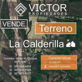 Vendo Terreno La Calderilla