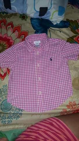 Camisa Polo Talla Lauren Talla 2 Orijina