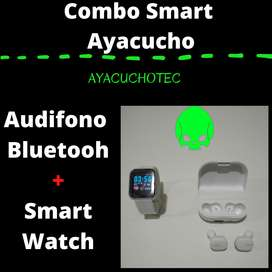 Audifonos con  Smartwatch