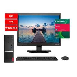 """PC Lenovo v530s SFF  Core i5 8400 8GB 1TB w10pro 3 años + monitor Lenovo li2215s 21.5"""""""