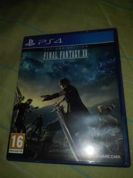 Vendo final fantasy xv ps4