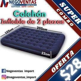 COLCHON INFLABLE  DE 2 PLAZAS