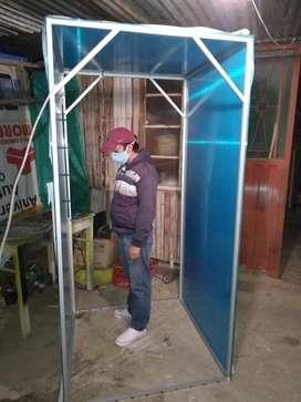 Cabinas de desinfección