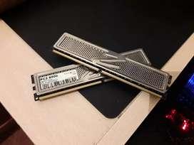 Memoria RAM ocz 2gb Platinum Edition